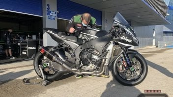 SBK: Jerez: New 2021 Kawasaki engine makes its track debut with Rea and Lowes
