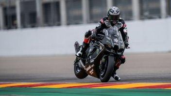 SBK: Fog stops Rea and new Kawasaki in Aragon! See ya' in January.