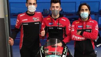 SBK: CIV SS600, Roberto Mercandelli torna nel Team Rosso e Nero