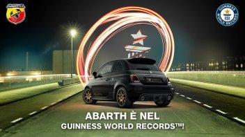 Auto - News: Abarth: arriva il premio dal Guinness World Records