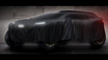 Auto - News: Audi alla Dakar 2022: il concept è in pieno sviluppo