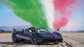 Auto - News: Pagani Huayra Tricolore: un omaggio all'Italia da 5 milioni di euro e mezzo