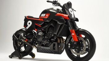 Moto - News: Yamaha Yard Built XR9 Carbona: come tirare fuori la vera anima del CP3