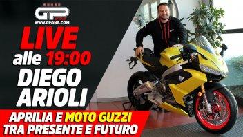 Moto - News: LIVE - Aprilia e Moto Guzzi tra presente e futuro: alle 19 con Diego Arioli