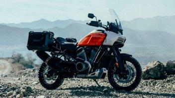 Moto - News: Harley-Davidson pronta a lanciare la Pan America con Jason Mamoa