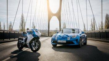 Moto - News: MV Agusta: con Alpine per una edizione limitata della Superveloce, foto e video