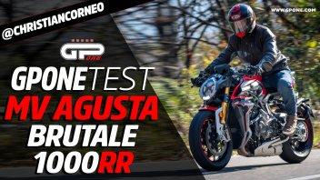 Moto - Test: Prova MV AGUSTA BRUTALE 1000 RR: nuda d'autore
