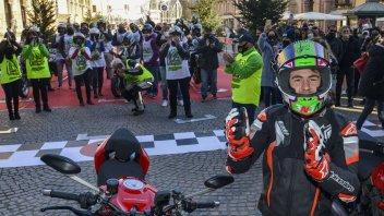 Moto2: Rimini, festeggia Enea Bastianini nel nome di Pasolini e Bianchi