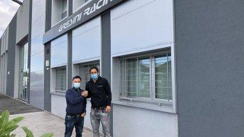 MotoE: Team Gresini: per il 2021 confermato Ferrari e arriva Mantovani