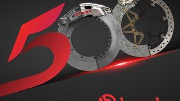 MotoGP: Brembo tocca quota 500: tanti i titoli mondiali vinti, a 2 e 4 ruote
