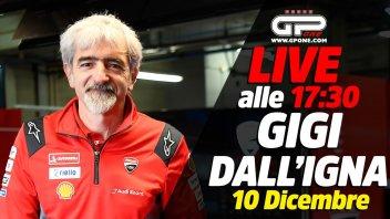 MotoGP: LIVE - Gigi Dall'Igna ospite della nostra diretta oggi alle 17:30