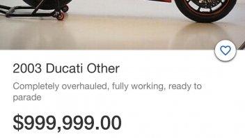 MotoGP: In vendita a un milione su eBay la Ducati GP3 MotoGP ex-Bayliss del 2003!