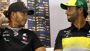 MotoGP: Il GP dei social: Hamilton batte Rossi, anche Norris meglio di Quartararo