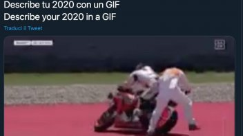 MotoGP: Marc Marquez jokes about his 2020: the summary is a comical crash