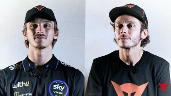 """MotoGP: Rossi face-to-face with Marini: """"The pupils can sometimes surpass the teacher"""""""