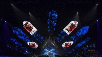 MotoGP: Luca Marini svela la Ducati MotoGP del team Sky alla finale di X-Factor