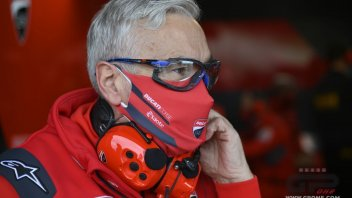 "MotoGP: Tardozzi: ""Dovizioso wasn't able to adapt to the Michelin tires"""