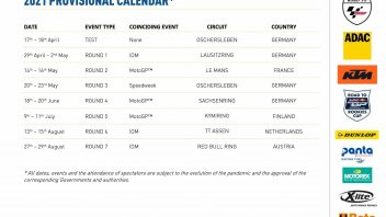 News: Annunciato il calendario provvisorio della Northern Talent Cup 2021