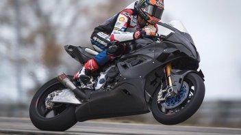 SBK: Michael van der Mark finalmente in pista con la nuova BMW M 1000 RR