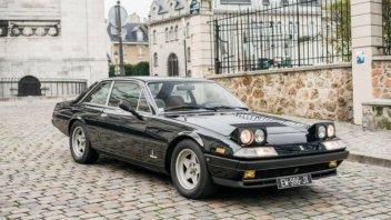Auto - News: Rispunta la Ferrari dedicata a Gilles Villeneuve ed acquistata da McEnroe