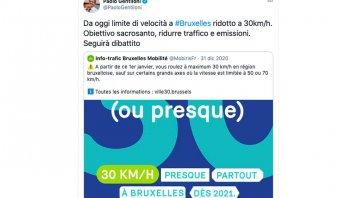 Auto - News: Limite di velocità di 30 km/h: Gentiloni vuole applicare il modello belga