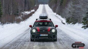Auto - News: In Lapponia con la Mini John Cooper Works Clubman, una 'slitta' da 306 cv