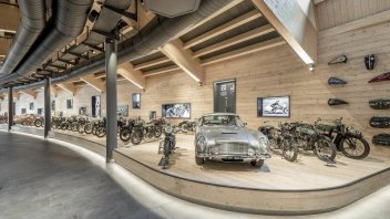 Auto - News: Fire in the world's highest motorcycle museum: 200 motorcycles burned