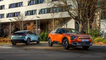 Auto - News: Citroën C4 ed ë-C4 2021: il crossover si rinnova, anche per l'elettrico