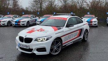 Auto - News: Furto a Cadwell Park: rubate le BMW utilizzate come Safety e Medical Car