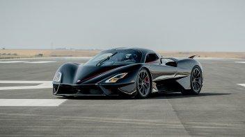 Auto - News: La SSC Tuatara è l'auto più veloce al mondo: record con 455,3 km/h!