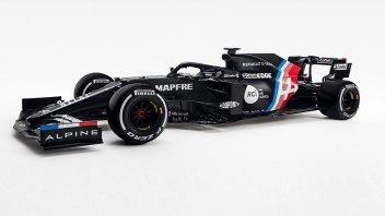 Auto - News: Ecco l'Alpine F1 in livrea Winter Test: la sfida di Alonso e Brivio