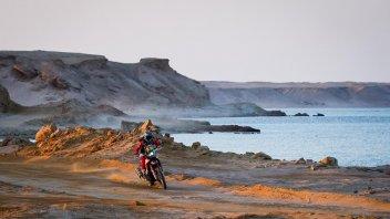 Dakar: È Honda Day alla Dakar: 1° Cornejo, 2° Benavides, 3° Barreda