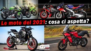 Moto - News: LIVE - Alle 18:30 parliamo di futuro: tutte le nuove moto del 2021