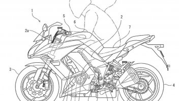 Moto - News: Kawasaki brevetta un cambio elettronico 'multi-piattaforma'