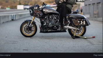 MotoAmerica: Bernie Sanders wildcard in 'King of Baggers' in MotoAmerica, or at Vallelunga