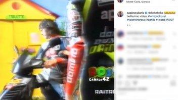 MotoGP: Quella volta che Capirossi riuscì a battere Valentino Rossi...per la toilette