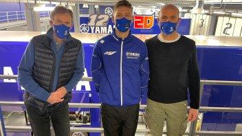 MotoGP: Fabio Quartararo: primo giorno da pilota ufficiale Yamaha