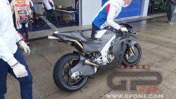 MotoGP: EXCLUSIVE: the new Honda MotoGP bike for 2021 at Jerez with Bradl!