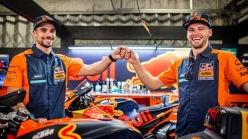 MotoGP: First photos of Binder and Oliveira as team-mates in the factory KTM team