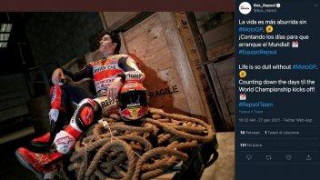MotoGP: Marc Marquez si rimette la tuta: la vita è così noiosa senza MotoGP