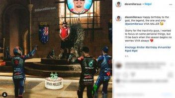 MotoGP: Jack Miller: festeggia i 26 anni e ringrazia i sudditi dal suo Trono di Spade