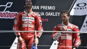 """MotoGP: Petrucci: """"I already realized that being a friend with Dovizioso was difficult at Mugello"""""""