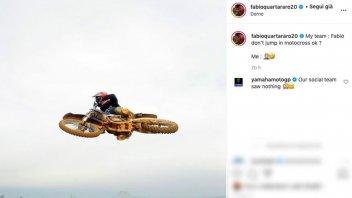 MotoGP: Yamaha chiede a Quartararo di non fare salti col cross: ecco la risposta!