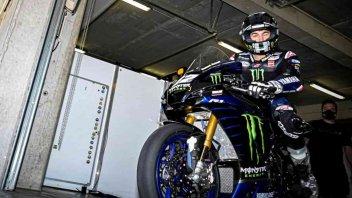 MotoGP: Vinales with Yamaha R1 at Jerez Superbike tests