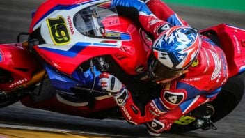 SBK: Team HRC test at Jerez postponed due to rain to 27-28 January