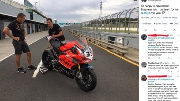 SBK: Rossi's former mechanic Brent Stephens to work with Bayliss