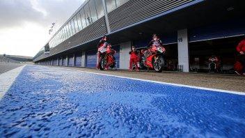 SBK: Jerez: pioggia, tamponi, soldi sprecati e il regalo Honda