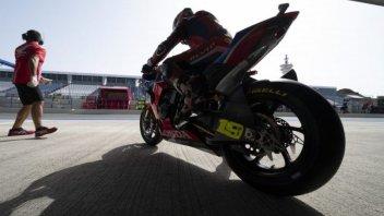 SBK: Jerez: Honda e Kawasaki di nuovo in pista affidandosi al meteo
