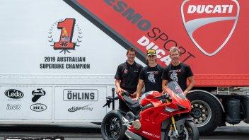 SBK: Oli Bayliss al via dell'Australian Superbike sulle orme di Troy con Ducati