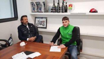 SBK: CIV SS300, Mattia Capogreco con Prodina Ircos Team nel 2021